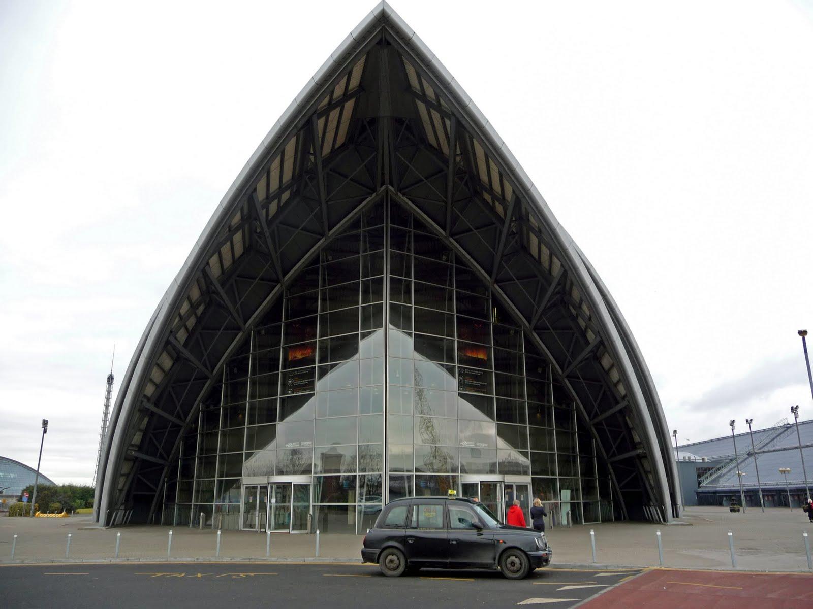 Glasgow Architecture Armadillo Scottish Tour Guide 39 S Blog